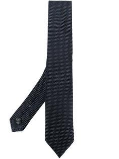 галстук с узором в горох Ermenegildo Zegna