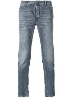 джинсы кроя слим с потертой отделкой Re-Hash
