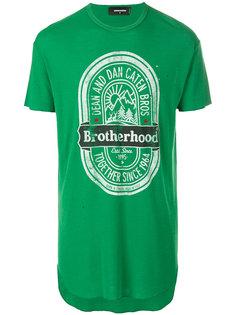 футболка Brotherhood Dsquared2