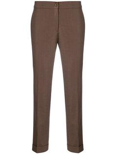 узкие жаккардовые брюки Etro