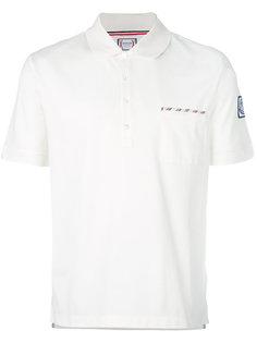 рубашка-поло с нашивкой логотипа Moncler Gamme Bleu