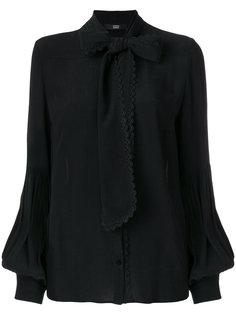 блузка с бантом и вышивкой Steffen Schraut