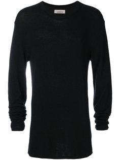 свитер полуприлегающего силуэта Laneus