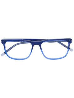 очки с квадратной оправой Calvin Klein
