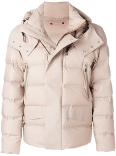 стеганое пальто с капюшоном Peuterey