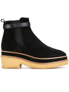 ботинки на утолщенной подошве Castañer