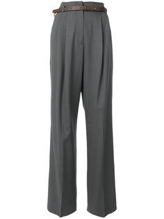 брюки свободного кроя с завышенной талией Fabiana Filippi