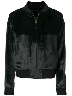 бархатистая куртка-бомбер  J Brand