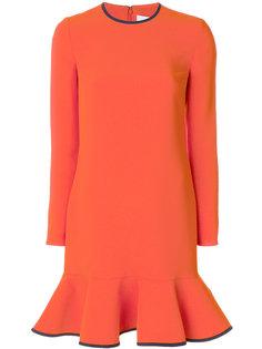 расклешенное платье мини  Victoria Victoria Beckham