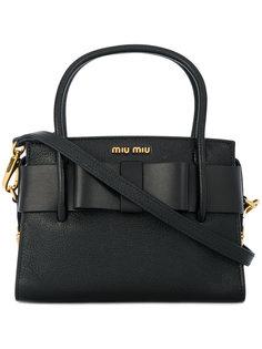 сумка Madras с верхними ручками Miu Miu