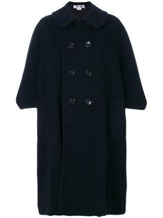 свободное двубортное пальто  Comme Des Garçons Comme Des Garçons
