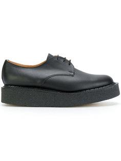 ботинки Дерби на платформе YMC