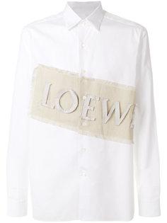 рубашка с заплаткой Loewe