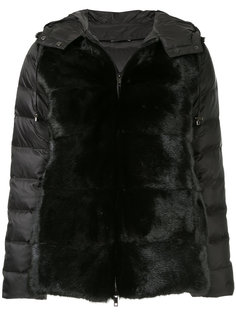 дутая куртка с искусственным мехом  P.A.R.O.S.H.