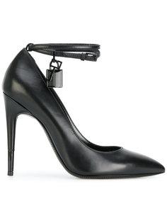 туфли с замочкой на ремешке Tom Ford