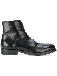 ботинки на шнуровке Pantanetti