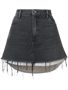 джинсовая мини юбка Alexander Wang