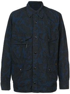 куртка-рубашка с принтом Rrl