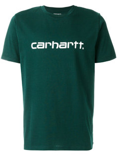футболка с нашивкой логотипа Carhartt
