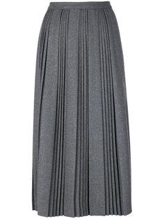 плиссированная юбка миди  Red Valentino