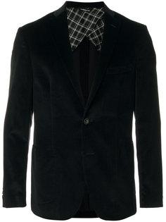 бархатный пиджак Tonello