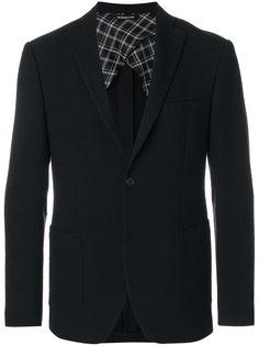 пиджак с контрастной подкладкой Tonello