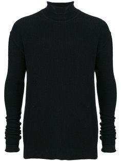 свитер с горловиной-воронка Rick Owens
