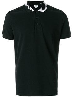 рубашка-поло с фирменным принтом Kenzo на воротнике Kenzo
