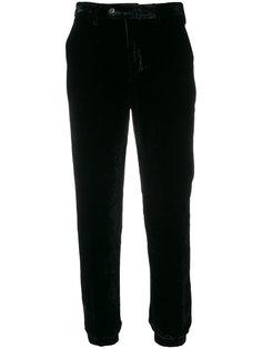 укороченные прямые брюки Pt01