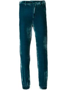 прямые укороченные брюки Pt01