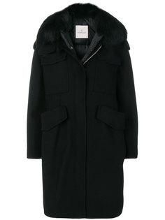 пальто Phillirea с мехом енота Moncler