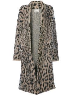 пальто с леопардовым рисунком Laneus