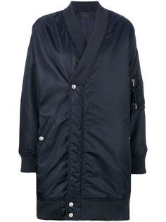 объемная куртка бомбер Diesel Black Gold