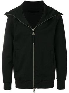 куртка на молнии с капюшоном Diesel Black Gold