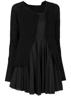 короткое платье-кардиган Rundholz Black Label