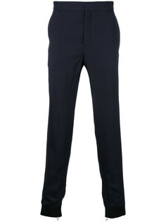 классические брюки с контрастными манжетами Lanvin