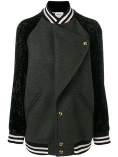 университетская куртка Lanvin