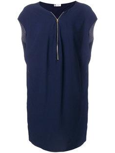 платье с застежкой на молнию спереди Lanvin