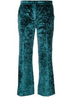 укороченные бархатные брюки  LAutre Chose