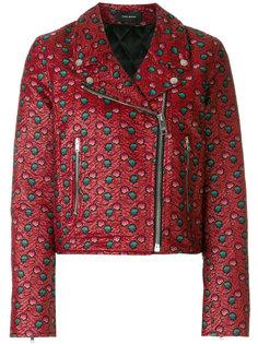 байкерская куртка Heaton с вышивкой Isabel Marant