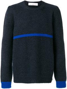 свитер с контрастными деталями Golden Goose Deluxe Brand