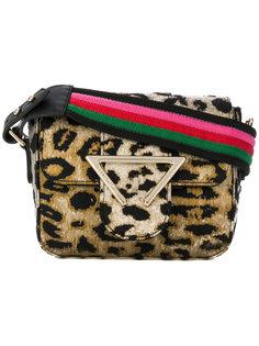 сумка с леопардовым узором Sara Battaglia