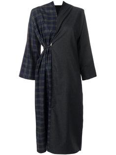 платье с контрастными панелями Daniela Gregis