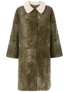 пальто с цигейкой Cascade Sofie Dhoore