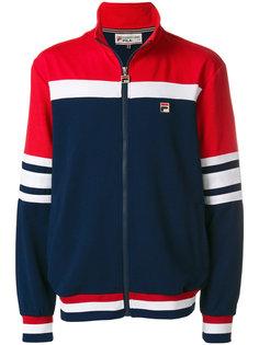 спортивная куртка с панельным дизайном Fila