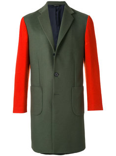 пальто дизайна колор-блок Lc23