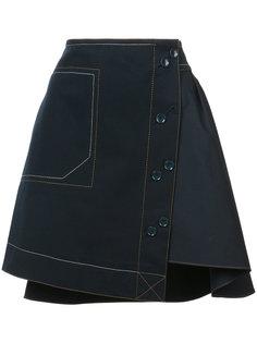асимметричная юбка Derek Lam 10 Crosby