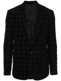 пиджак с клетчатым узором Roar
