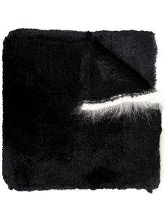 шарф с контрастной отделкой Sonia Rykiel