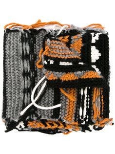 шарф в технике интарсия Sonia Rykiel